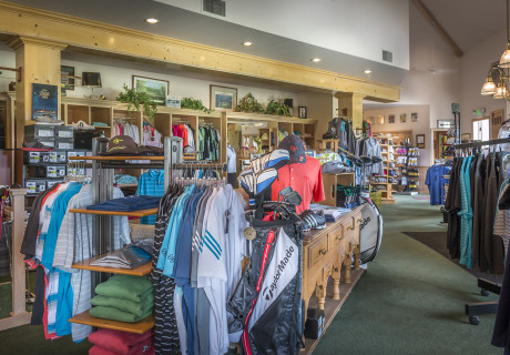The golf pro shop at Homestead Resort