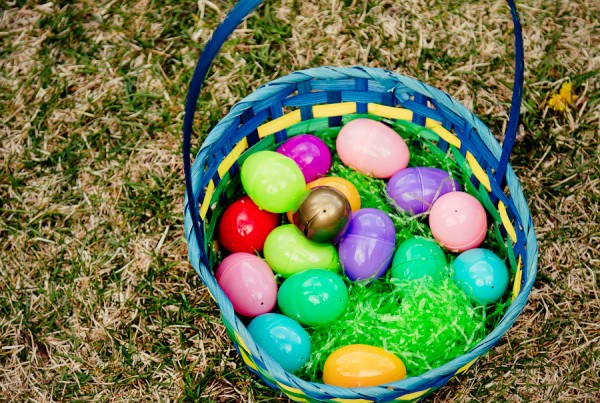 Easter - basket and eggs