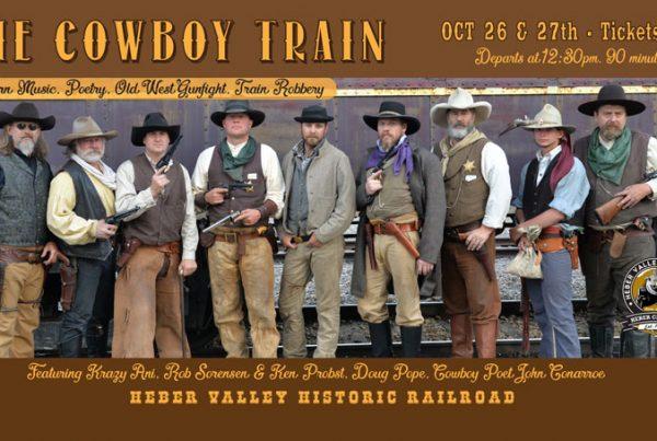 Heber Valley Railroad - cowboy train