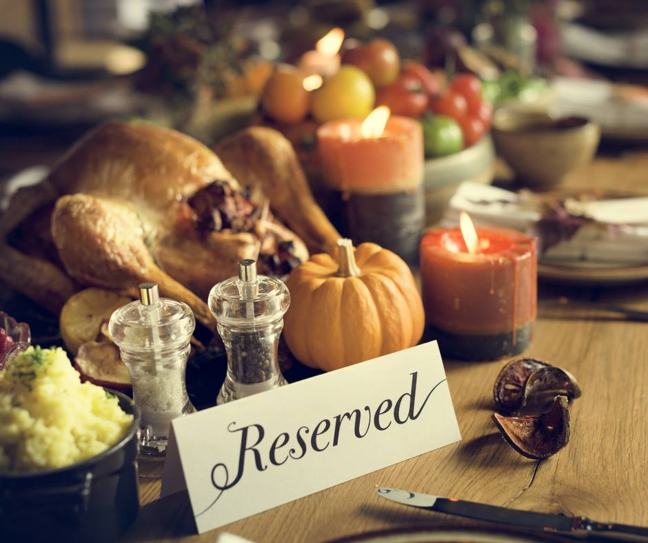 Thanksgiving at Homestead Resort