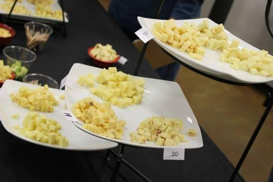 Cheese spread available as part of the Heber Valley Cheese Tasting event at the Homestead