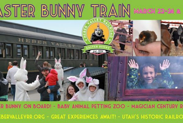Heber Valley Railroad - Easter Bunny Train